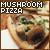 Pizza: Mushroom