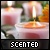 Candles: Scented