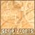 Fonts: Script
