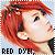 Hair: Red Dye