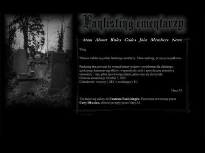 Graveyard Fanlisting